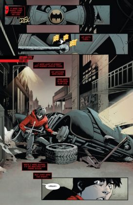 Red Hood and the Outlaws Rebirth Página interior (1)