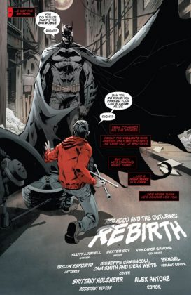 Red Hood and the Outlaws Rebirth Página interior (2)