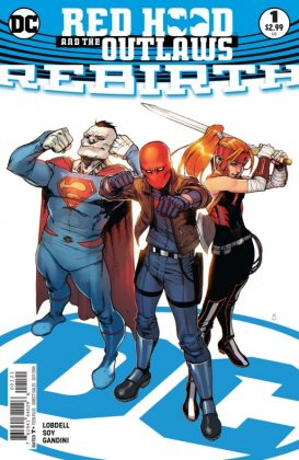 Red Hood and the Outlaws Rebirth Portada alternativa de Bengal