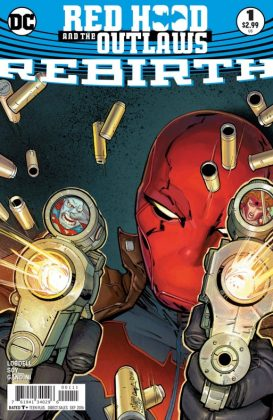 Red Hood and the Outlaws Rebirth Portada principal de Giuseppe Camuncoli y Cam Smith