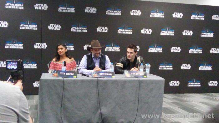 Rueda de prensa Star Wars Rebels 2