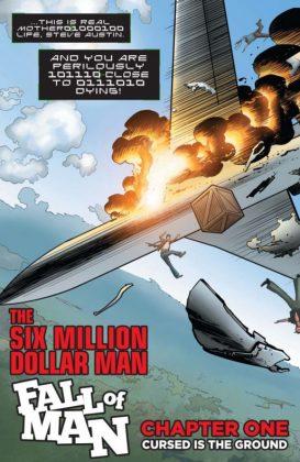 Six Million Dollar Man Fall of Man Página interior (2)