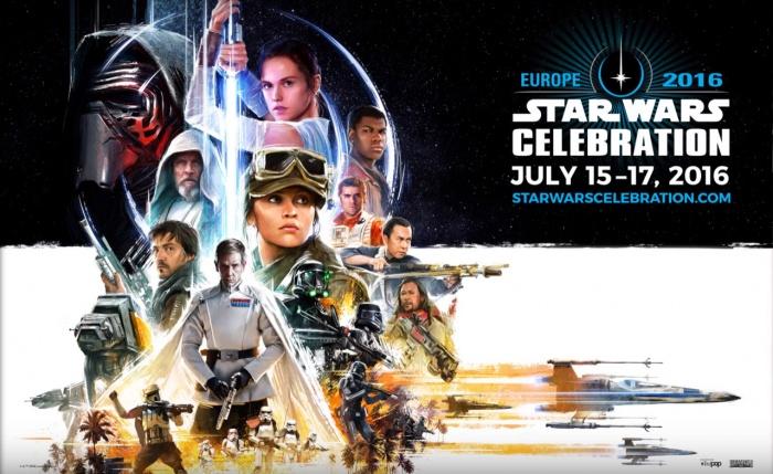 Star Wars Celebration Europe cartel