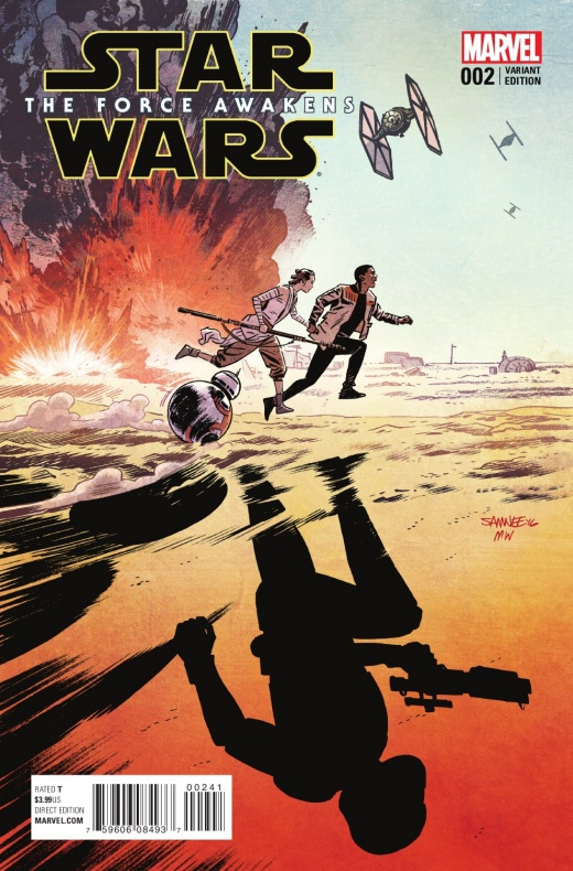 Star Wars El Despertar de la Fuerza 2 Portada 4