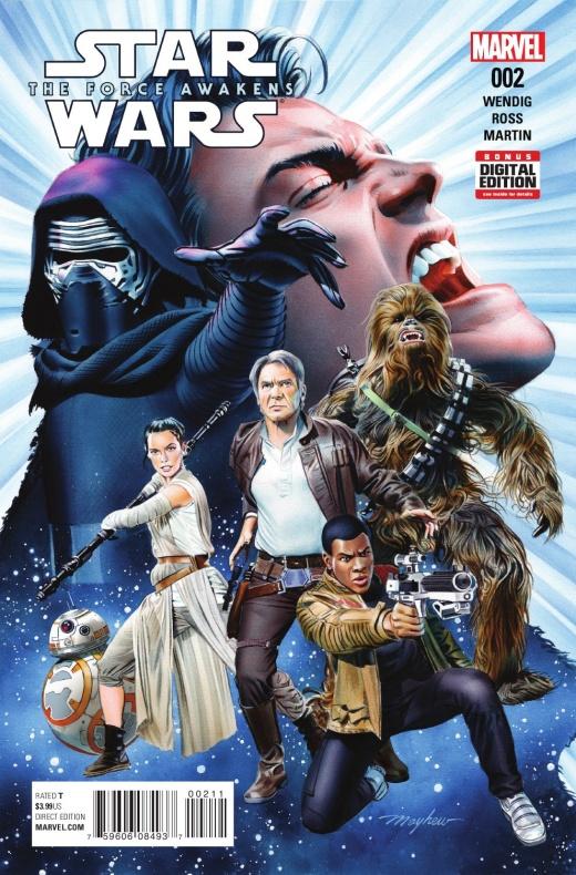 Star Wars El Despertar de la Fuerza 2 portada 1