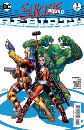 Suicide Squad Rebirth Portada alternativa de Amanda Conner