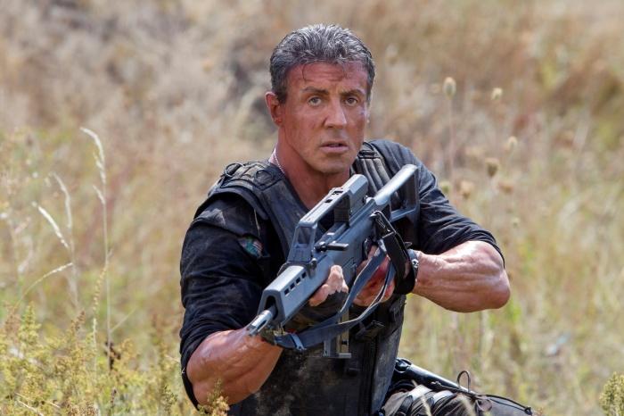 Sylvester Stallone en Los Mercenarios