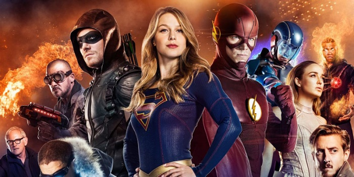 The CW - Legends of Tomorrow - Arrow - The Flash - Supergirl