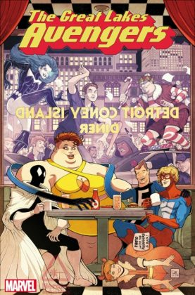 The Great Lakes Avengers Portada de Will Robson
