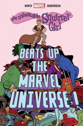 The Unbeatable Squirrel Girl Beats Up The Marvel Universe Portada de Erica Henderson