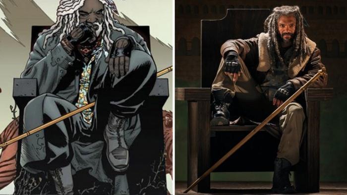 The Walking Dead Ezekiel