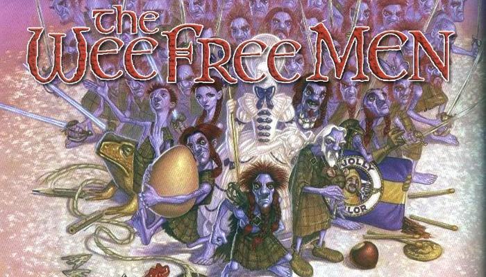 The Wee Free Men - Terry Pratchett - destacada