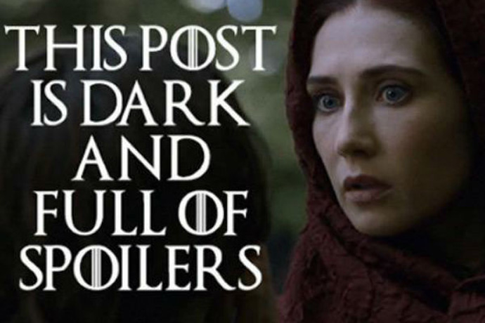 This post is dark and full of spoilers