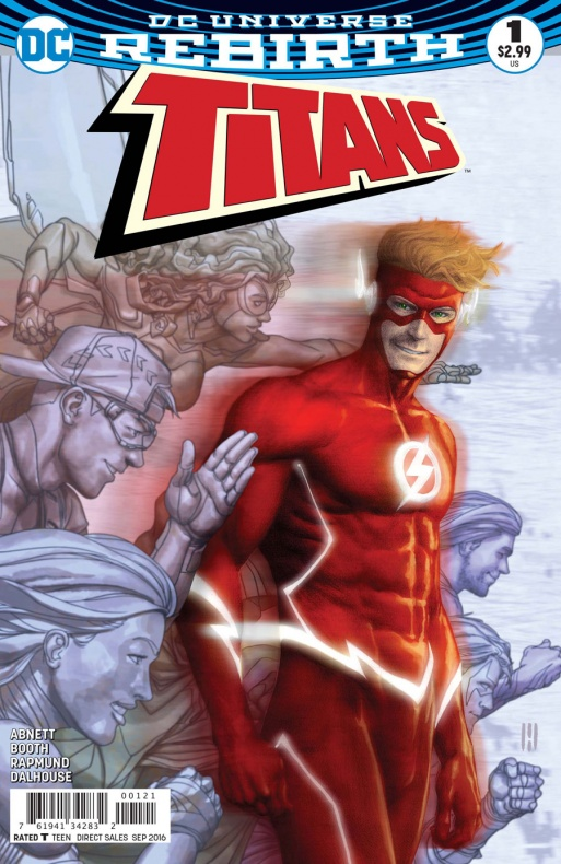 Titans Portada alternativa de Mike Choi
