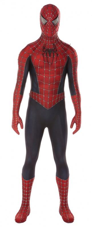 Traje de Spiderman 3 llevado por Tobey Maguire - a subasta