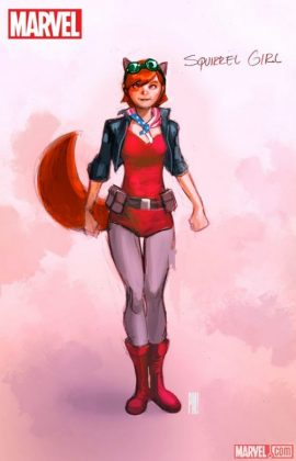 U.S.Avengers 1 Chica Ardilla