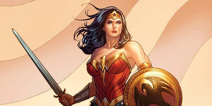 Wonder Woman Frank Cho Destacada