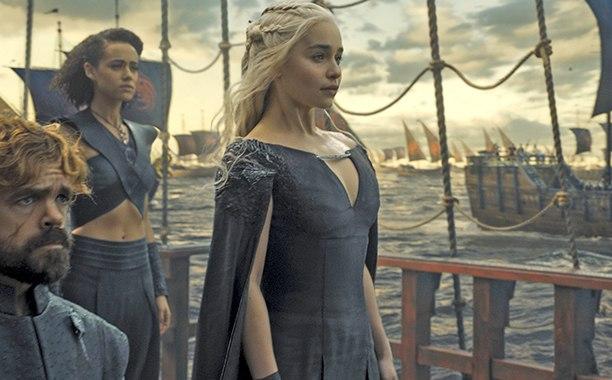 Juego de Tronos - Daenerys en barco