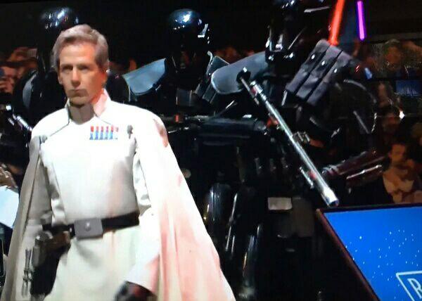 Ben Mendelsohn en el panel de Rogue One de la Star Wars Celebration
