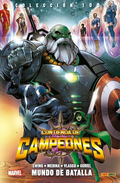 100 marvel contienda campeones mundo batalla