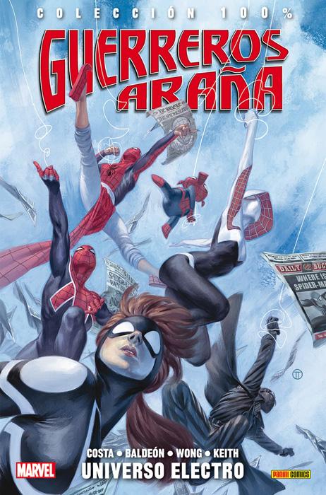 100 marvel universo electro guerreros araña