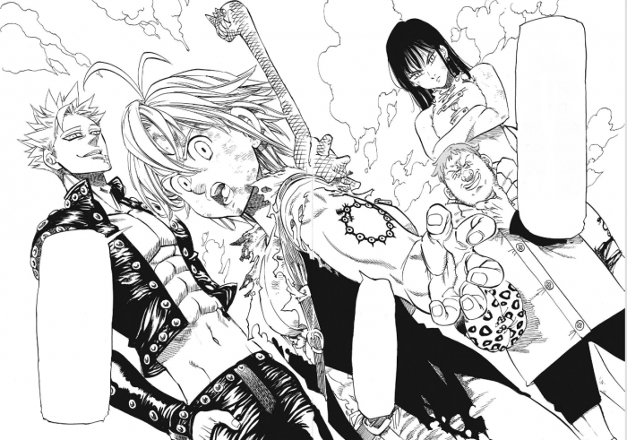 seven deadly sins 6 doble pagina