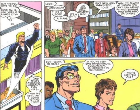8 curiosidades entre personajes Marvel y DC 04 Clark Kent en Marvel1