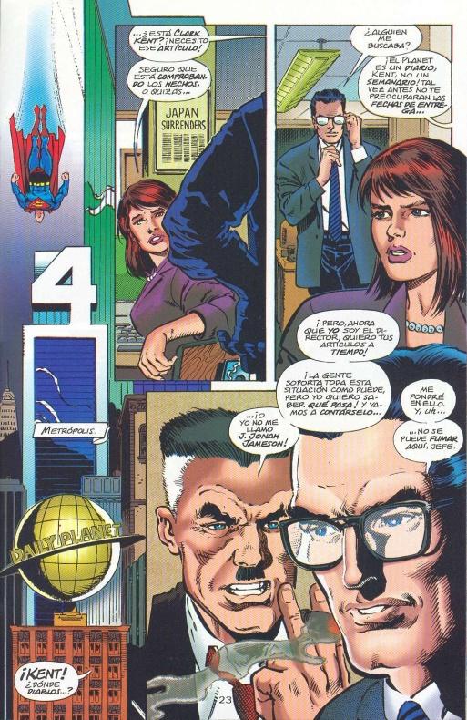 8 curiosidades entre personajes Marvel y DC 06 J Jonah Jameson jefe de Superman