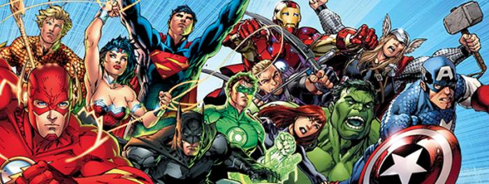 8 curiosidades entre personajes Marvel y DC