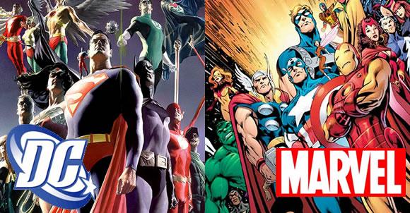 8 curiosidades entre personajes Marvel y DC1
