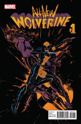 All-New Wolverine Annual Portada alternativa de Vanesa Del Rey
