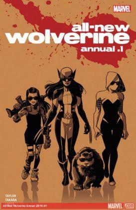 All-New Wolverine Annual Portada principal de Cameron Stewart