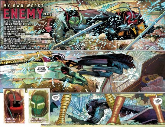 All-Star Batman Página interior (2)