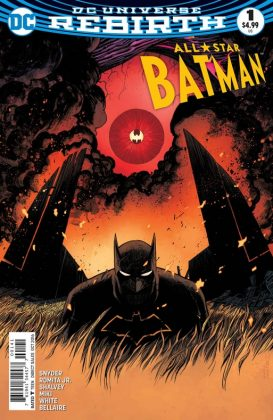 All-Star Batman Portada alternativa de Declan Shalvey y Jordie Bellaire