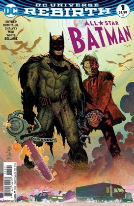 All-Star Batman Portada alternativa de John Romita Jr