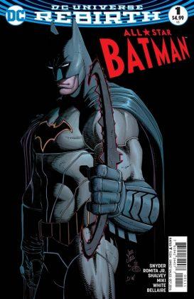 All-Star Batman Portada principal de John Romita Jr. y Danny Miki