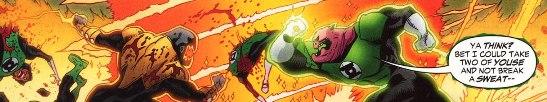 Reseña de 'Green Lantern de Geoff Johns' vol.2 (ECC Ediciones)