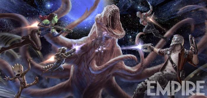 Arte conceptual de Guardianes de la galaxia Vol. 2