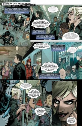 Batgirl and the Birds of Prey Página interior (1)