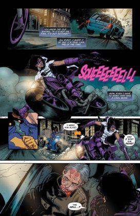 Batgirl and the Birds of Prey Página interior (5)
