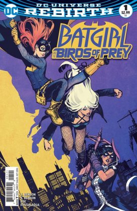 Batgirl and the Birds of Prey Portada alternativa de Kamome Shirahama