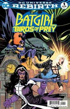 Batgirl and the Birds of Prey Portada principal de Yanick Paquette y Nathan Fairbairn