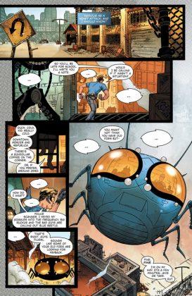 Blue Beetle Rebirth Página interior (2)