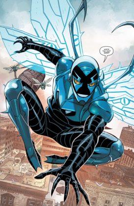 Blue Beetle Rebirth Página interior (4)