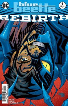 Blue Beetle Rebirth Portada principal de Scott Kolins