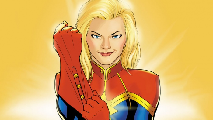 Capitana Marvel destacada