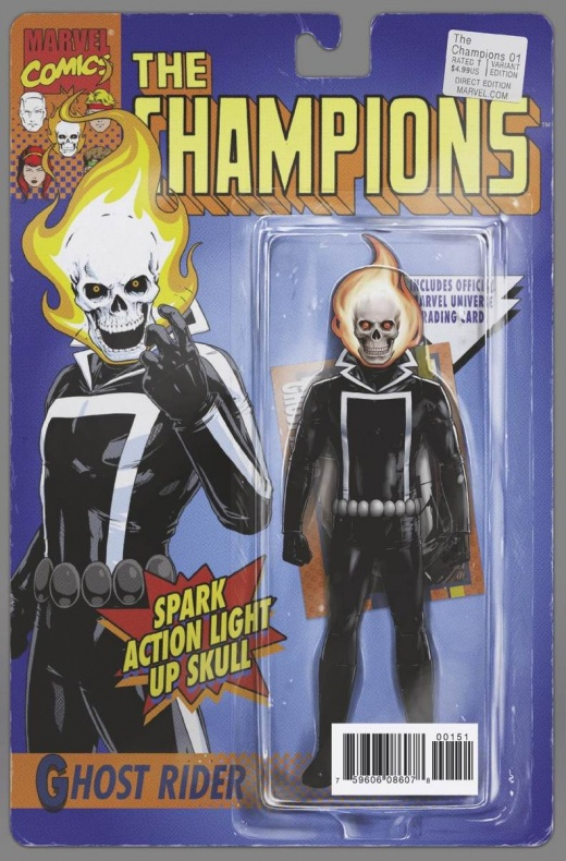 Champions 1 Classic Action Figure Variant