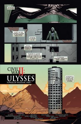 Civil War II Ulysses Página interior (1)