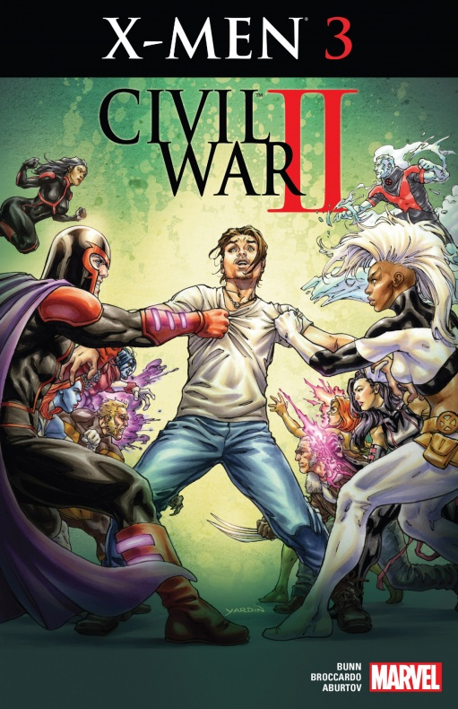 Civil War II regresa un X-Men