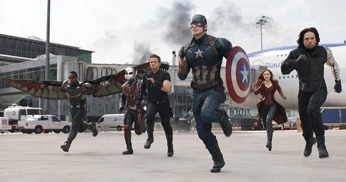 Civil War escenas eliminadas
